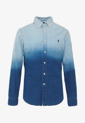 INDIGO SOLID - Skjorter - blue dip dye
