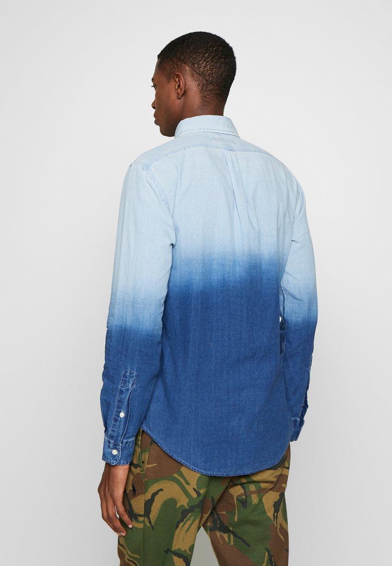 Polo Ralph Lauren - INDIGO SOLID - Košile - blue dip dye