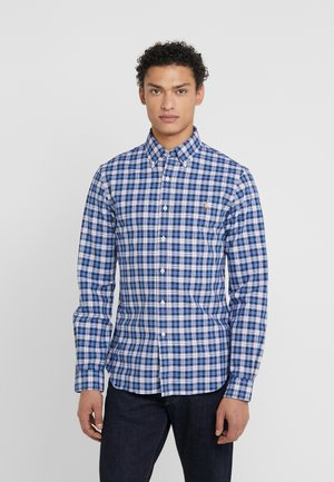 OXFORD SLIM FIT - Camisa - white/blue