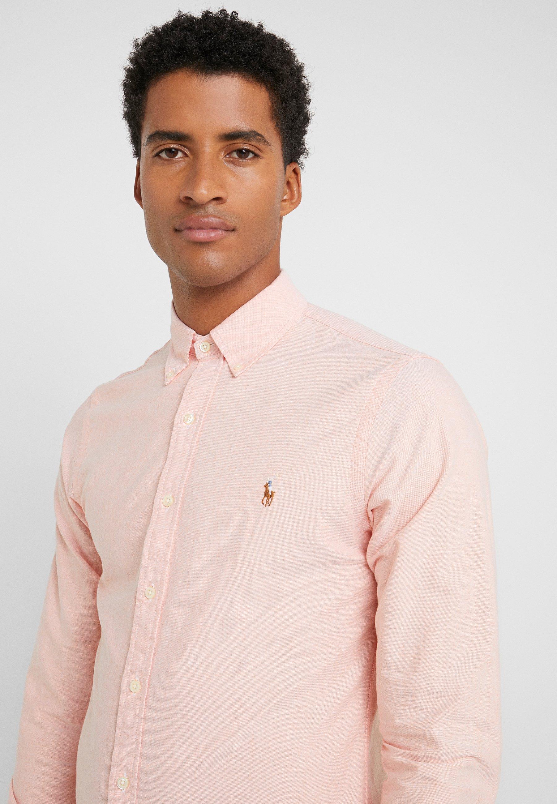 Polo Ralph Lauren OXFORD SLIM FIT - Koszula - tangerine