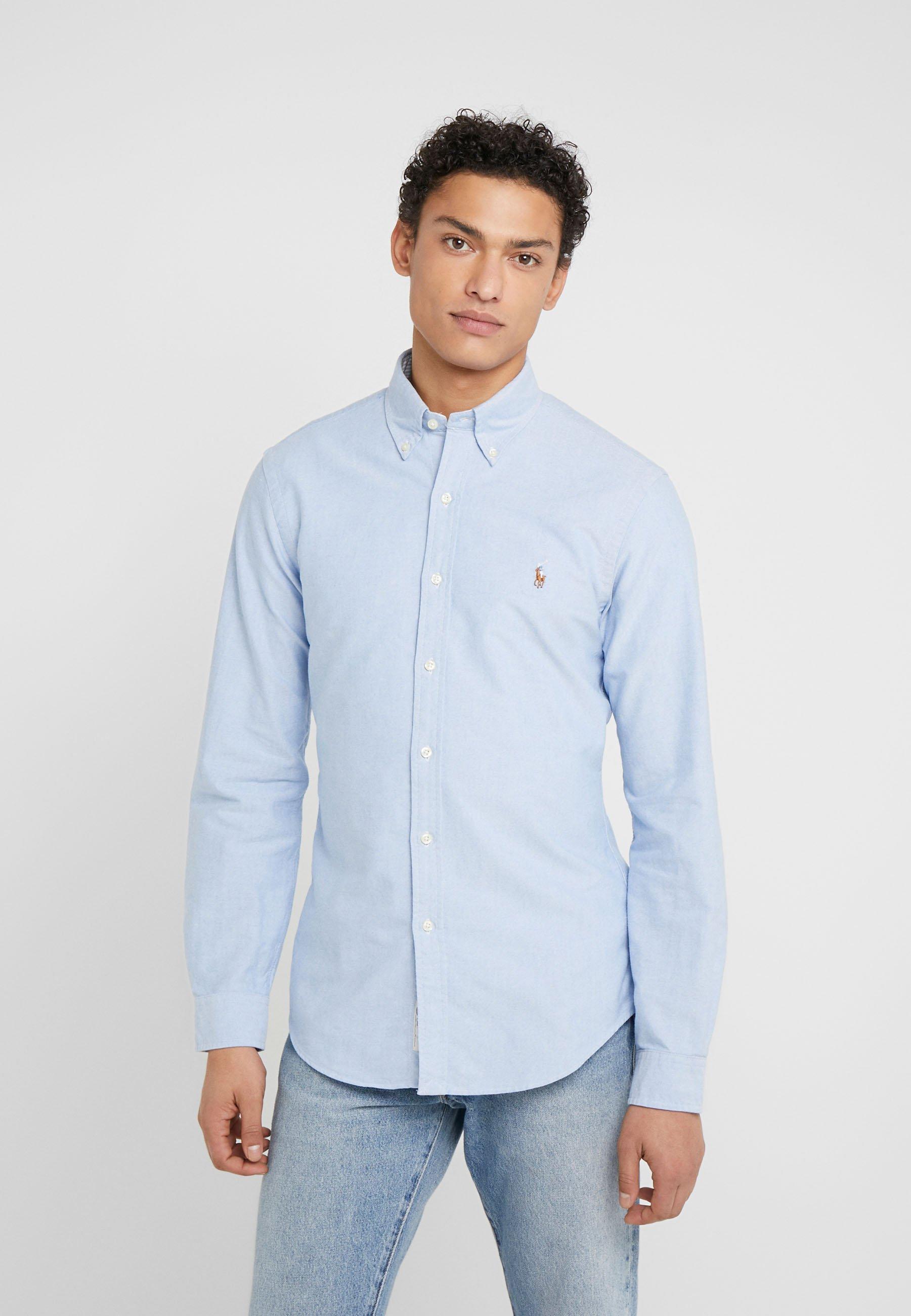 Polo Ralph Lauren OXFORD SLIM FIT - Koszula - BLUE