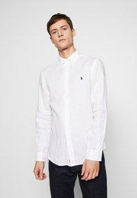 Polo Ralph Lauren - PIECE DYE - Camicia - white - 0