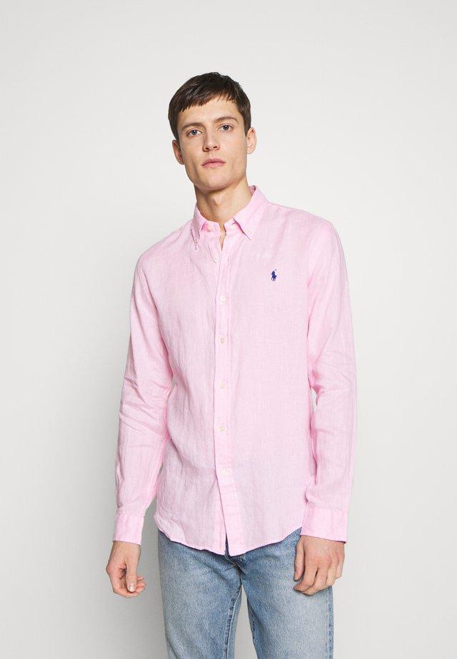 PIECE DYE - Camisa - carmel pink