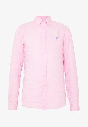 PIECE DYE - Košile - carmel pink