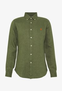 Polo Ralph Lauren - PIECE DYE - Camicia - supply olive - 4