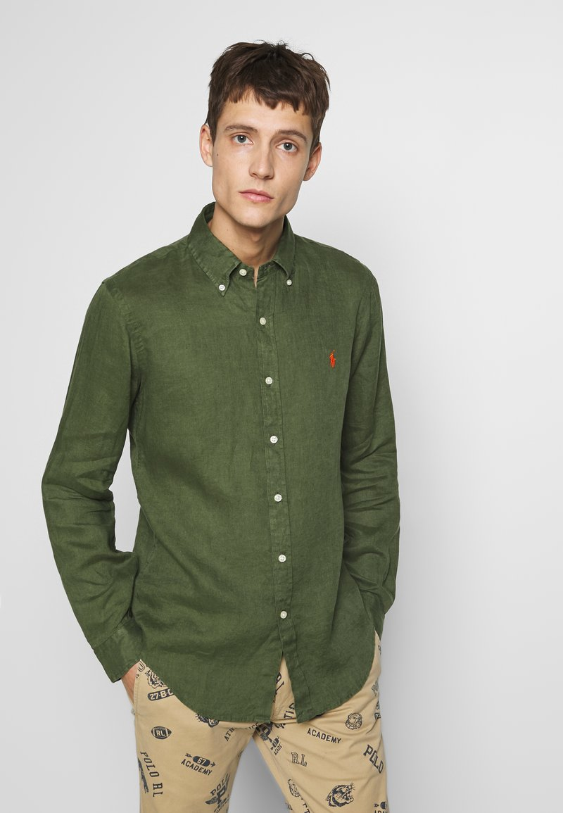 Polo Ralph Lauren - PIECE DYE - Camicia - supply olive