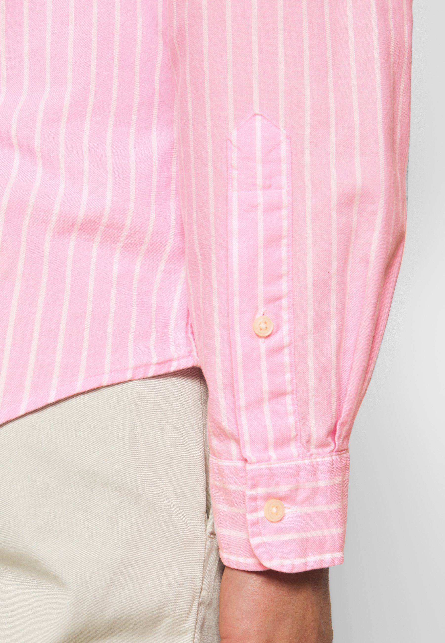 Polo Ralph Lauren Oxford Slim Fit - Shirt Pink/white UK