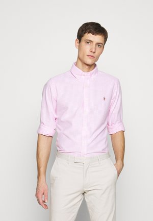 OXFORD SLIM FIT - Košile - pink/white
