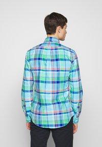 Polo Ralph Lauren - OXFORD SLIM FIT - Košile - green/blue - 2