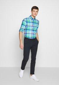 Polo Ralph Lauren - OXFORD SLIM FIT - Košile - green/blue - 1