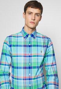 Polo Ralph Lauren - OXFORD SLIM FIT - Košile - green/blue - 5