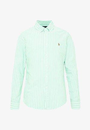 OXFORD SLIM FIT - Camicia - green/white