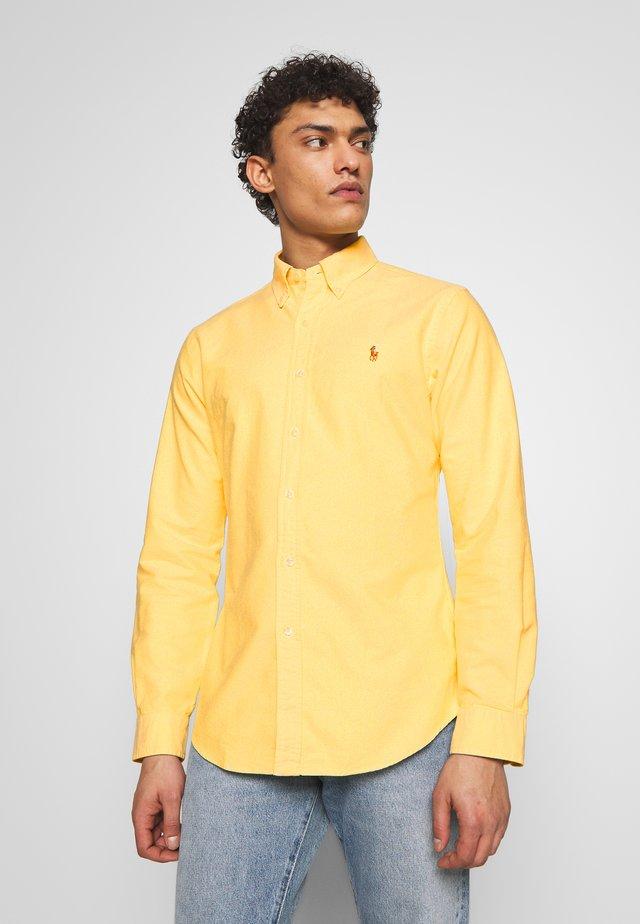 OXFORD - Hemd - yellow oxford