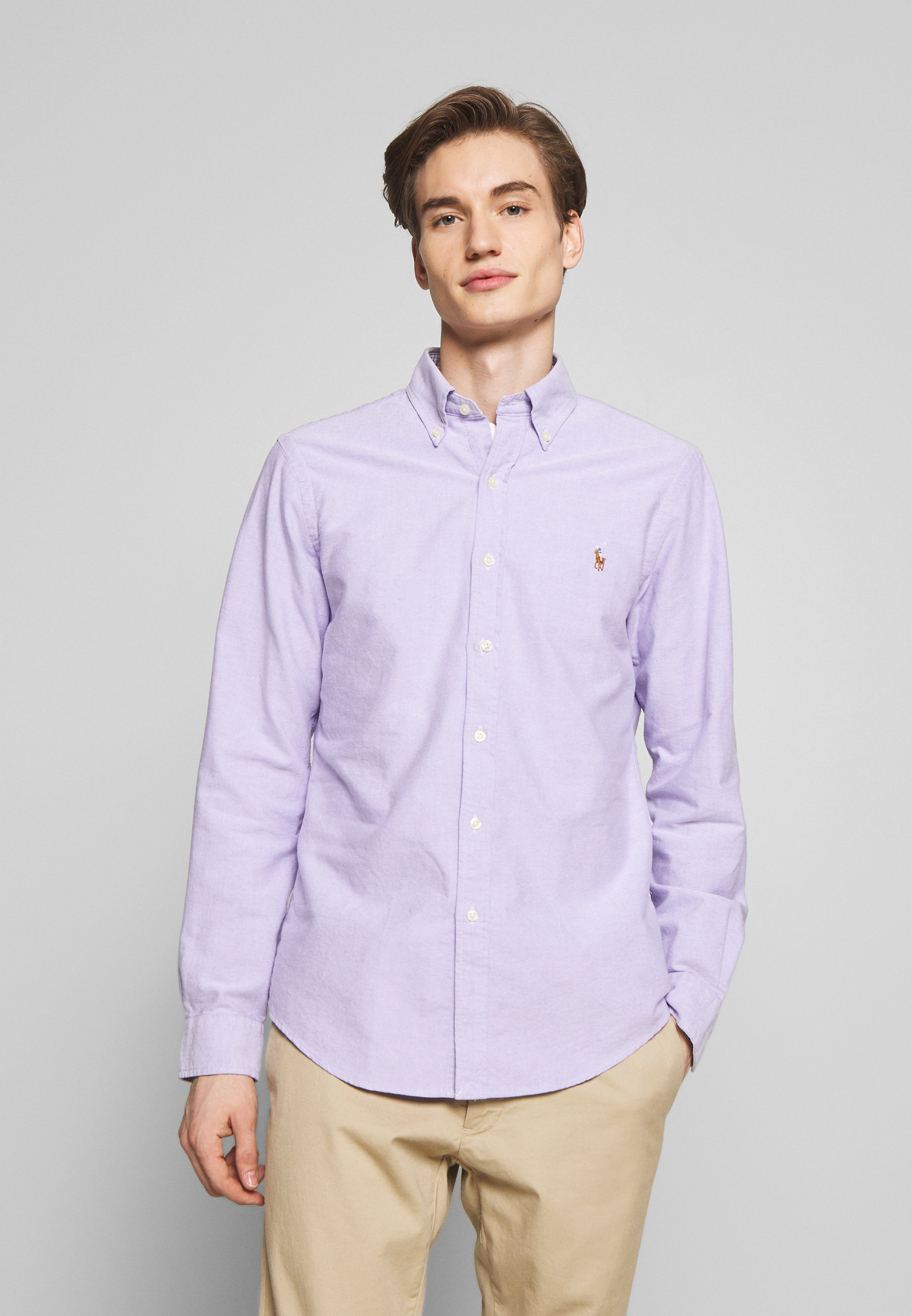 Polo Ralph Lauren OXFORD - Koszula - grape
