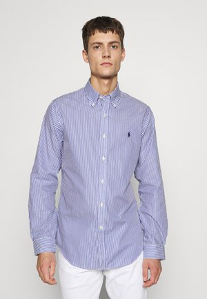 NATURAL - Camicia - white/blue