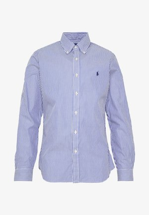 NATURAL - Camisa - white/blue