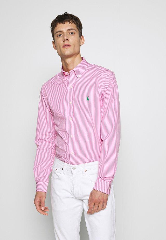 NATURAL - Camisa - pink/white