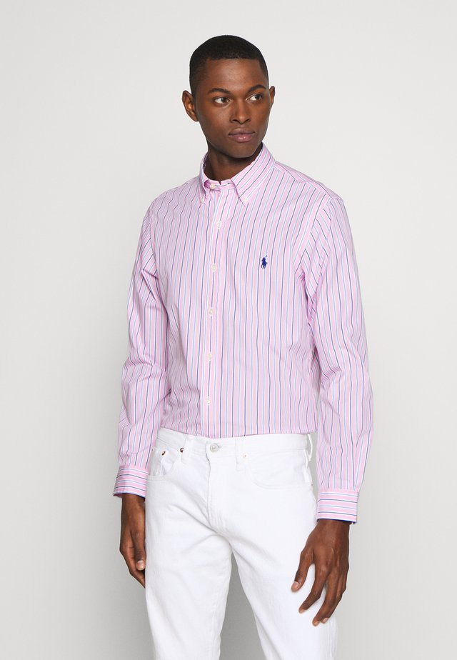 NATURAL - Camicia - pink/blue