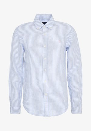 STRIPE SLIM FIT - Camicia - blue/white