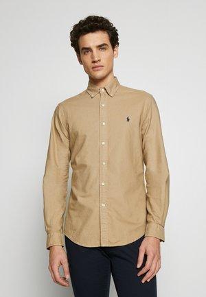 OXFORD - Shirt - surrey tan
