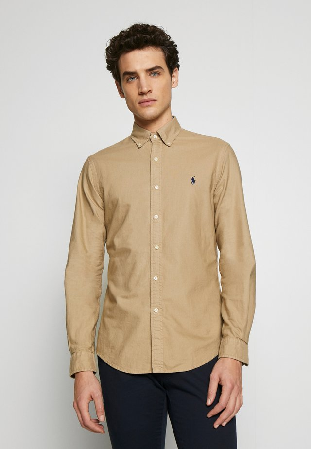 OXFORD - Camicia - surrey tan