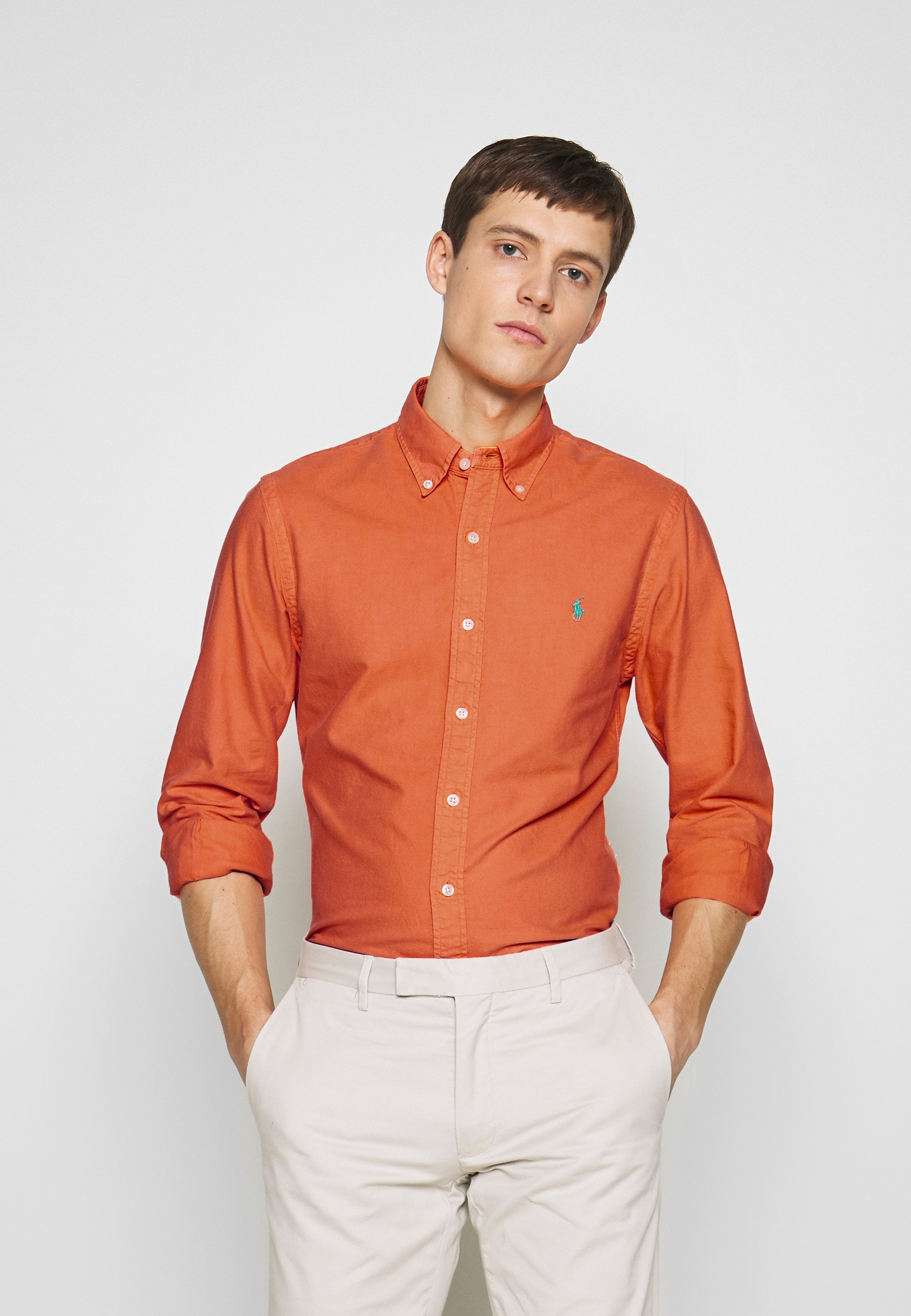 Polo Ralph Lauren Oxford - Chemise Cadmium