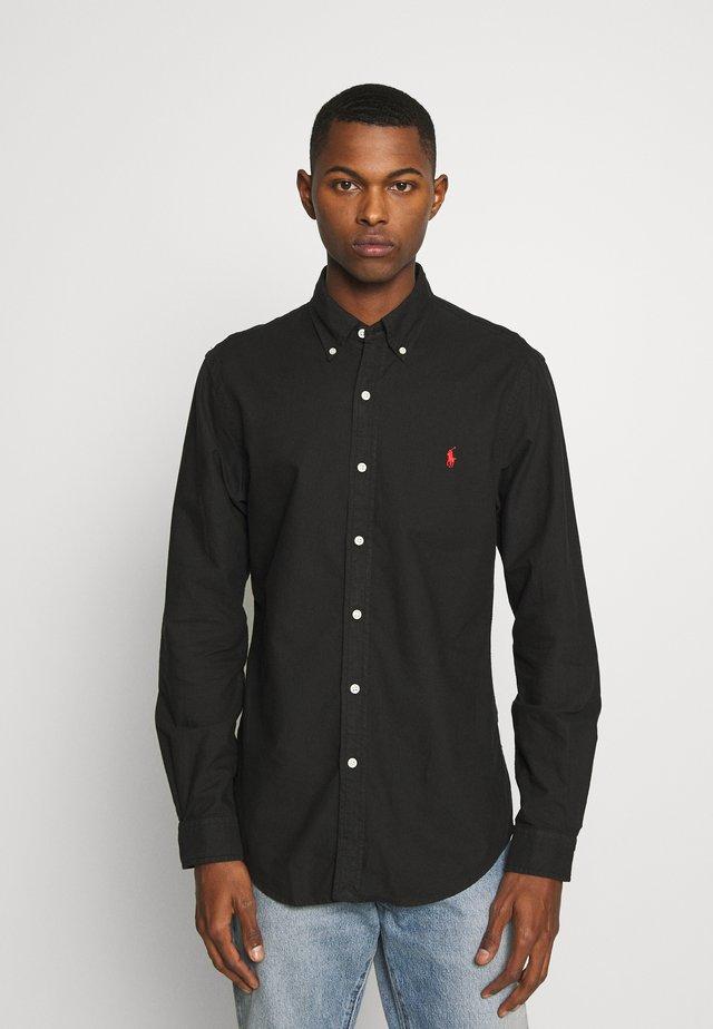 GD OXFORD - Camicia - polo black