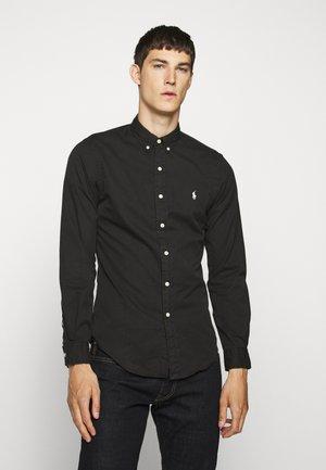 CHINO - Camicia - black