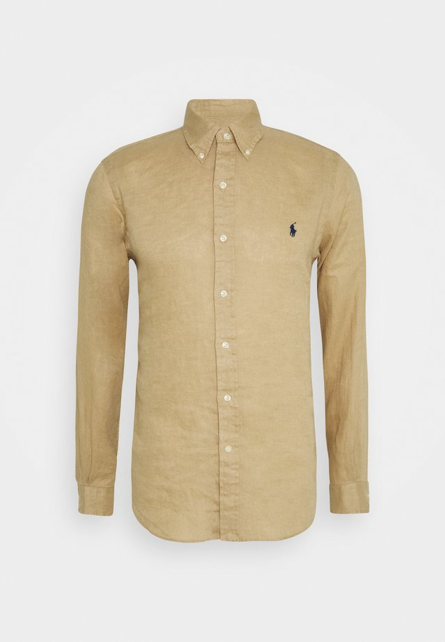 LONG SLEEVE - Chemise - coastal beige
