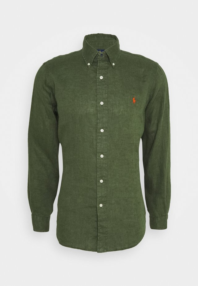 LONG SLEEVE SPORT  - Shirt - supply olive