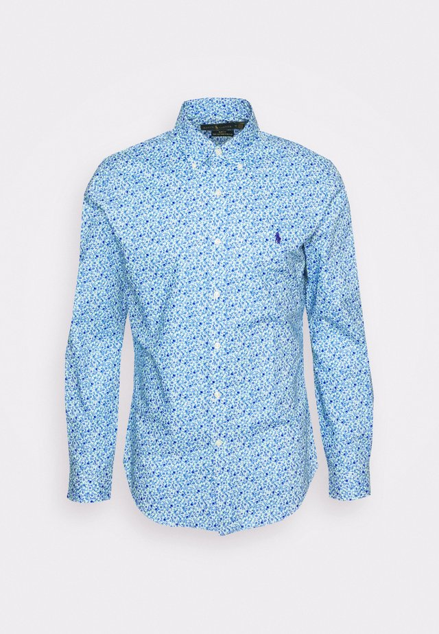 LONG SLEEVE - Chemise - blue/white/light blue