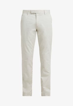 FLAT PANT - Trousers - sand