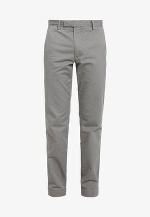 FLAT PANT - Spodnie materiałowe - college grey