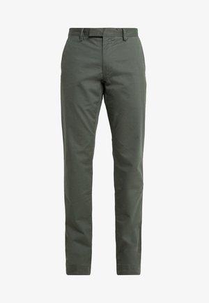 FLAT PANT - Pantalones - angler green
