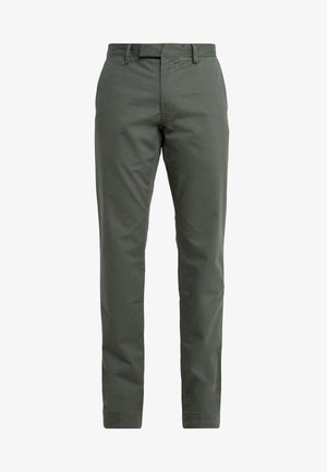 FLAT PANT - Tygbyxor - angler green