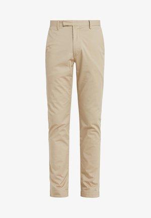 FLAT PANT - Pantalones - classic khaki