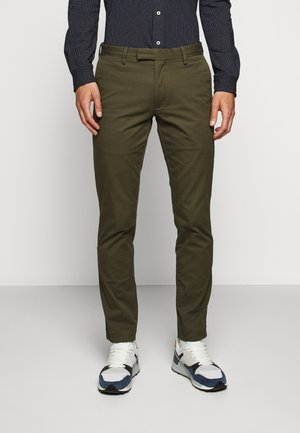 FLAT PANT - Bukser - expedition olive