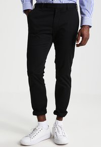 Polo Ralph Lauren - FLAT PANT - Trousers - polo black - 0