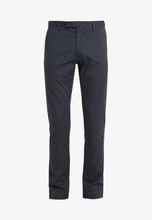 FLAT PANT - Trousers - black mask