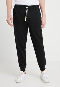 Polo Ralph Lauren - CUFF PANT - Tracksuit bottoms - black - 0
