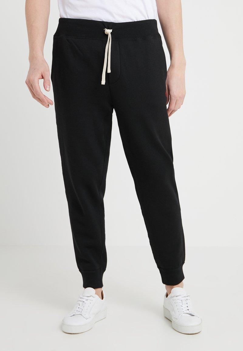 Polo Ralph Lauren - CUFF PANT - Pantalon de survêtement - black