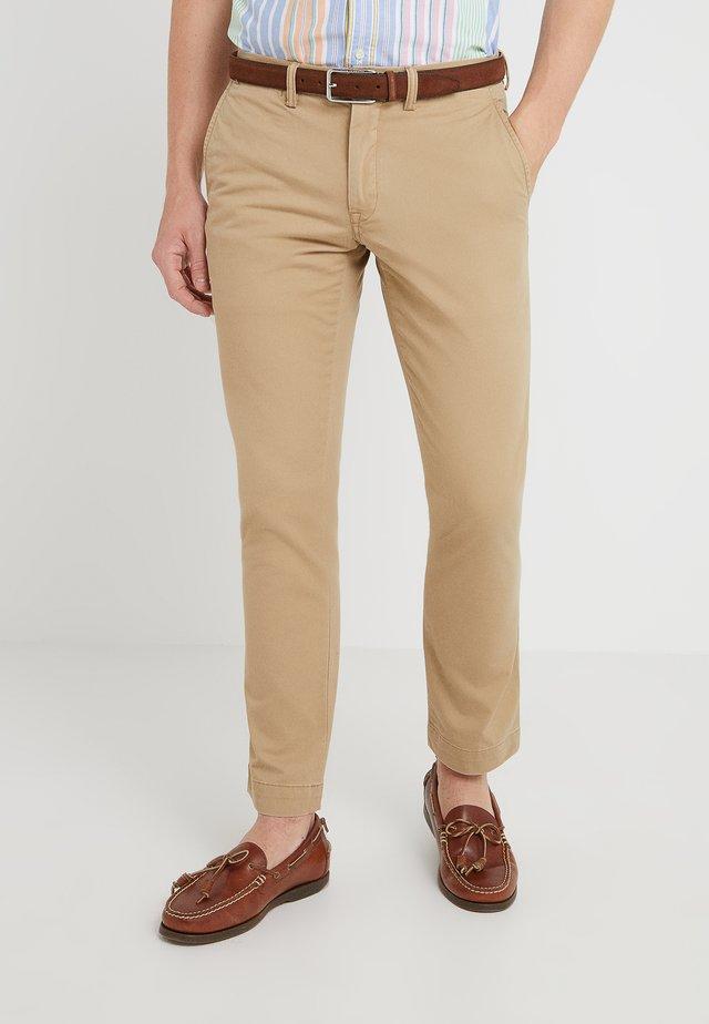 BEDFORD PANT - Pantalones - luxury tan
