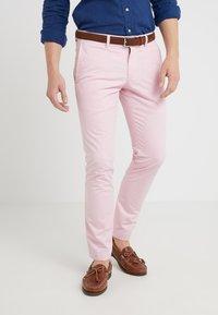 Polo Ralph Lauren - BEDFORD PANT - Tygbyxor - garden pink - 0