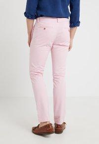 Polo Ralph Lauren - BEDFORD PANT - Tygbyxor - garden pink - 2