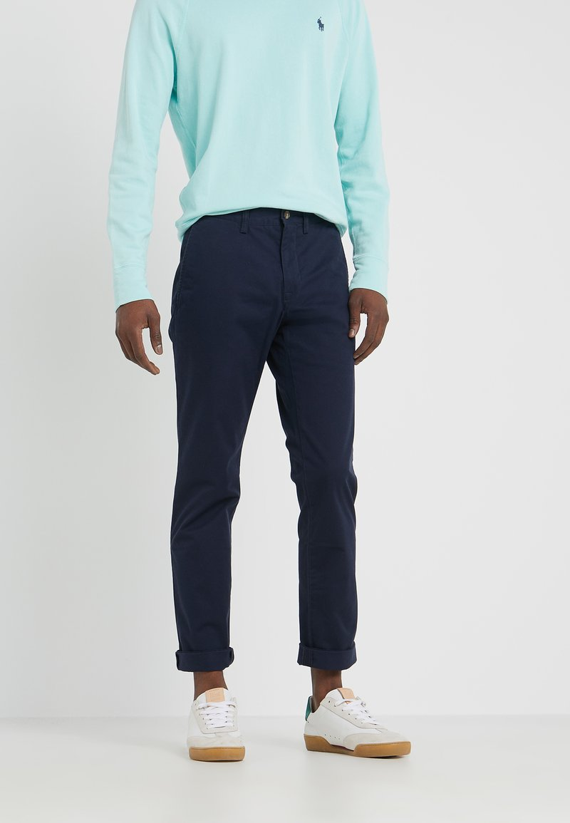 Polo Ralph Lauren - BEDFORD PANT - Tygbyxor - nautical ink