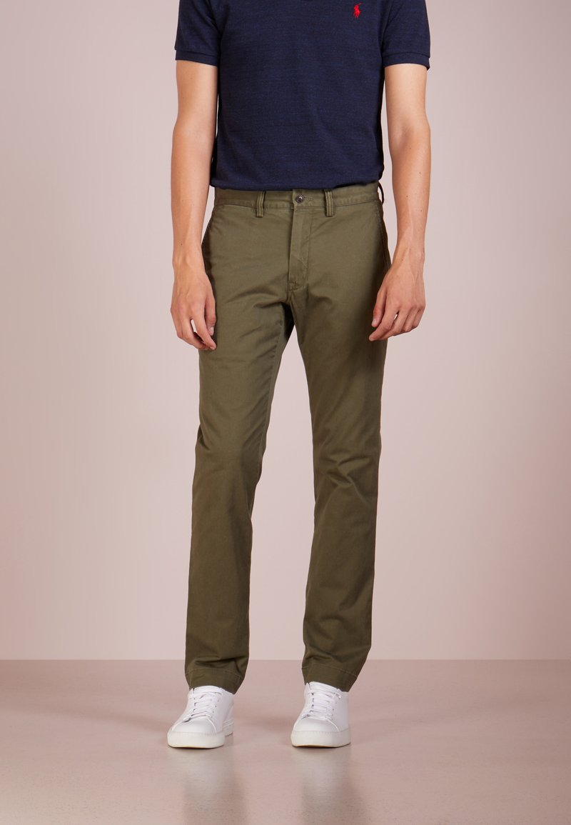 Polo Ralph Lauren - BEDFORD PANT - Spodnie materiałowe - expedition olive