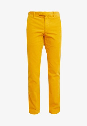SLIM FIT PANT - Pantaloni - basic gold