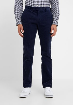 SLIM FIT PANT - Pantaloni - cruise navy