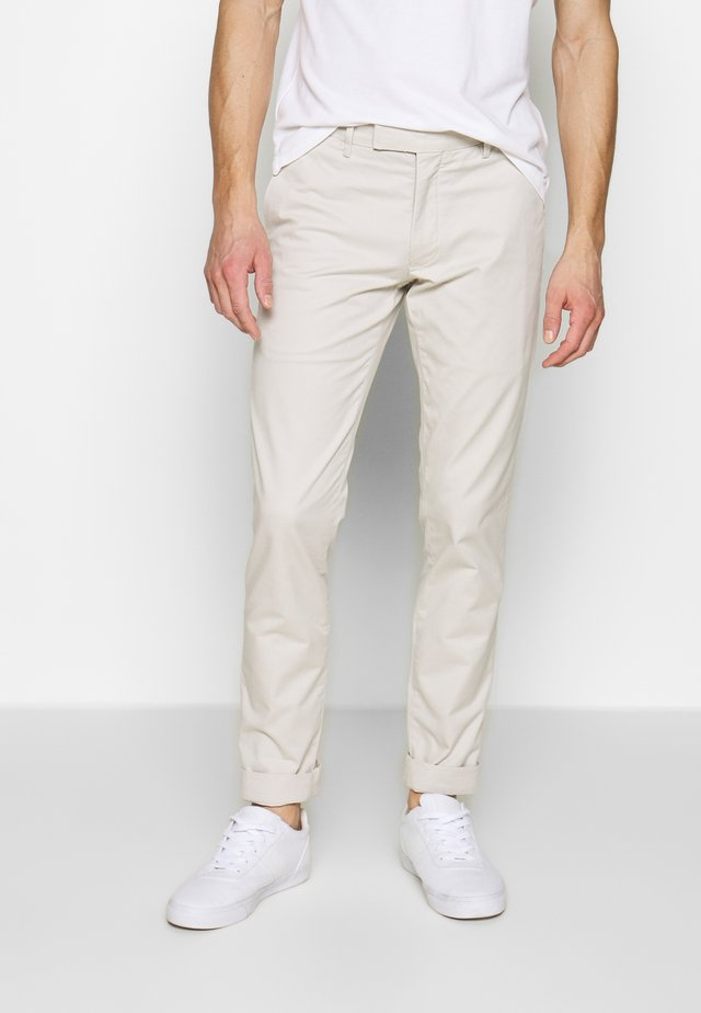 TAILORED PANT - Tygbyxor - dove grey