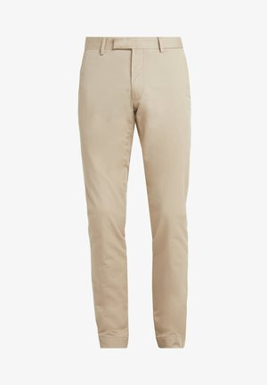 TAILORED PANT - Trousers - classic khaki